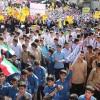 گزارش راستا نیوزاز تجمع ضد استکباری ۱۳ آبان +تصاویر