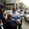 توزیع ماسک و پمفلت رایگان توسط مرکز بهداشت مسجدسلیمان در سطح شهر + تصویر