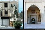 تندیس دعبل خزاعی در شهر نجف اشرف رونمایی شد/ شهرسازی خوزستان در مسیر بیهویتی+تصاویر