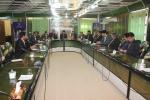 فرماندار مسجدسلیمان در نشست هماهنگی اجرای دستورالعمل مبادلات مرزی فعالین اقتصادی خواستار راه اندازی میز اقتصادی در مسجدسلیمان،لالی و اندیکا در مرز، به عنوان رابط این سه شهرستان شد