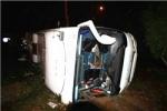 رئیس دانشگاه علوم پزشکی دزفول: واژگونی اتوبوس در مسیر جاده اهواز به شوش/ 13 زائر مصدوم شدند