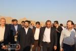 در دومین سفر استاندار خوزستان به مسجدسلیمان چه گذشت ؟ + تصاویر