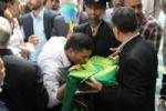 جلسه استقبال از خدام امام رضا(ع) در مسجدسلیمان