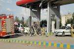 مصدوم در حادثه انفجار سی ان جی شهرداری مسجدسلیمان