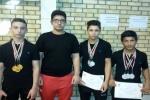 خوزستان نائب قهرمان مسابقات وزنه برداری کشور