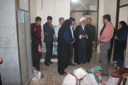 بازدید سرپرست فرمانداری ازمرکز نگهداری توانبخشی معلولین جسمی و ذهنی امید شهرستان مسجدسلیمان
