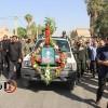 گزارش تصویری از مراسم تشییع پیکر پاک شهید عبدالغفور کاظمی در روز تاسوعای حسینی