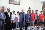 دیدار نماینده مسجدسلیمان با جمعی از مدال آوران کاراته در مسابقات جهانی و بین المللی+تصاویر