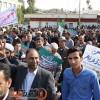 حضور پرشور مردم مسجدسلیمان در راهپیمایی یوم الله ۲۲ بهمن
