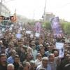 گزارش تصویری از مراسم تشییع دو شهید حادثه تروریستی اهواز در مسجدسلیمان