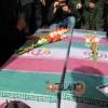 عشق یعنی استخوان و یک پلاک/ گزارش تصویری از تشییع و خاکسپاری پیکر پاک دو شهید گمنام در مسجدسلیمان