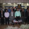 تجلیل از خبرنگاران مسجدسلیمانی با حضور مسئولین