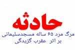 مرگ مرد 65 ساله مسجدسلیمانی بر اثر عقرب گزیدگی