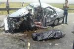 یک کشته و 7 مصدوم در تصادف محور شوش-اندیمشک